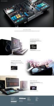 Native Instruments website by JY-C