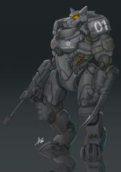 Commission: Power Armor. by aiyeahhs