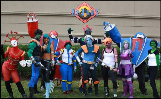 ReBoot Cosplay Group Anime North 2012 by Koria-paws