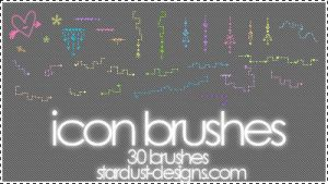 Icon Brushes by xalatarielx