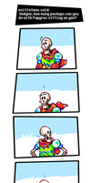 Undertale ask blog: pushups by neonUFO