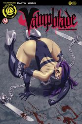 Vampblade Cover for Action Lab: Danger Zone by comixmill