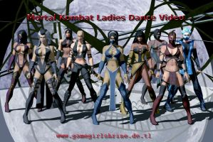 Mortal Kombat Ladies Dance Video by Bahlinka