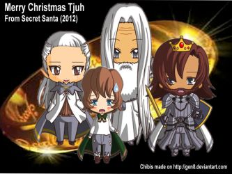 Lord of The Rings Chibi's by OzCat5