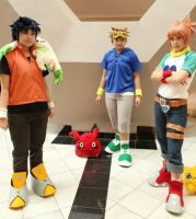Digimon Tamers - Cosplay by shuukichi