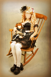 Porcelain Doll by faceless-monster
