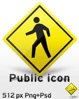 Public icon Png+Psd by SebDominguez
