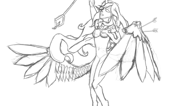 Star Guardian Soraka [WIP] by altimis