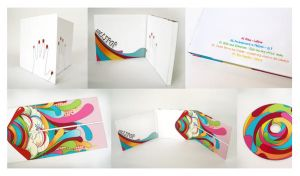 pop of my own cd packaging by Lalapop
