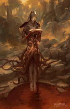 Zaqiel, Angel of Purity by PeteMohrbacher