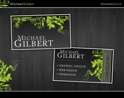 Business card by F05310019