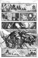 Batman vs Predator pg1 by VASS-comics