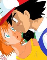 Misty...you know that you want to... by Klautaku