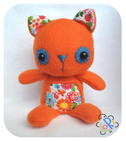 Flower Kitty Plush by LoRi-La-Tortuga