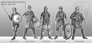 Medieval Armor Reference Project - 400 to 800 by LieutenantHawk