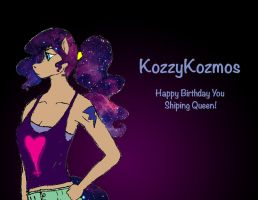 KozzyKozmos' BDay Gift by Swallow-of-Fire8091