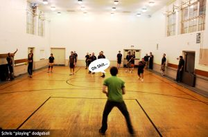 Dodgeball with Chris by mattdanna