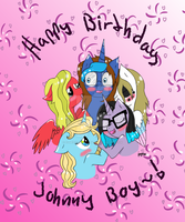 Happy Birthday John-Blund~!! by Elmer157Typhlosion