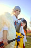 Sesshomaru and Rin by ssnight