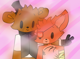 FNAF|FREXY|Smile!| by CookieIsBae