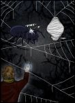 Flies and Spiders by Indiliel