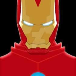 Ironman Portrait by Tooniefied