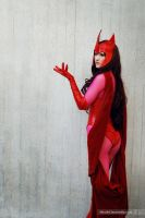 The Scarlet Witch - X-Men by Mostflogged
