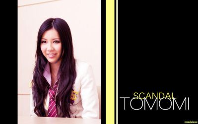 TOMOMI of SCANDAL wallpaper2 by xalleonlatsyrc