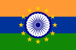 Flag of Indo-Europen languages by hosmich