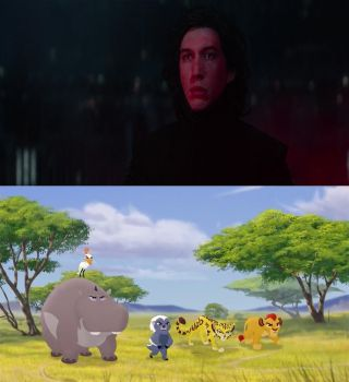 The Lion Guard is Going to Defeat Kylo Ren by Jared1994