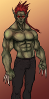 Full body Orc by OnHolyServiceBound