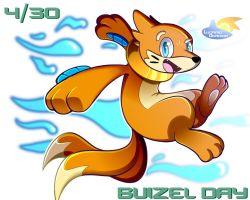 Buizel's Day! by LucarioOcarina