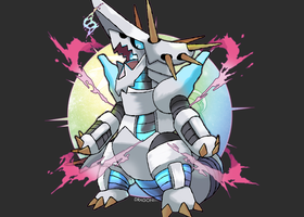 Mega Aggron (FAN-MADE) by Dragonith