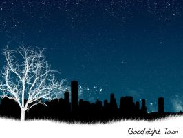 goodnight town by Drisgo