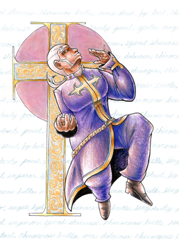 Enrico Pucci by Pickledsuicune