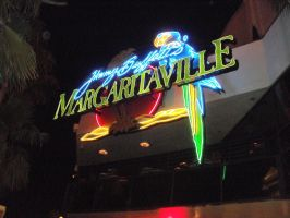 Margaritaville Neon Sign by L1701E