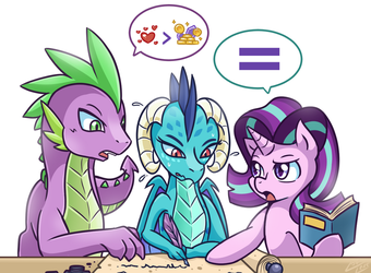 Helping Hoof/Claw by vavacung