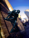 Black Suit Spider-Man by SuperSparkplug