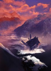 Fjords and wrecks by mikedee