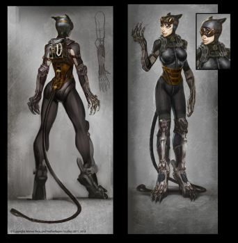 Catwoman by Raggedy-Annedroid