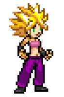 Project Caulifla Ssj (Sprite) by RockMan6493