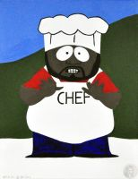 Southpark- Chef by NickMears