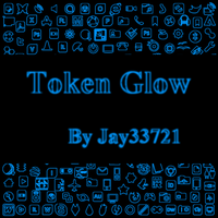 Token Glow Icons - Light Blue by Jay33721