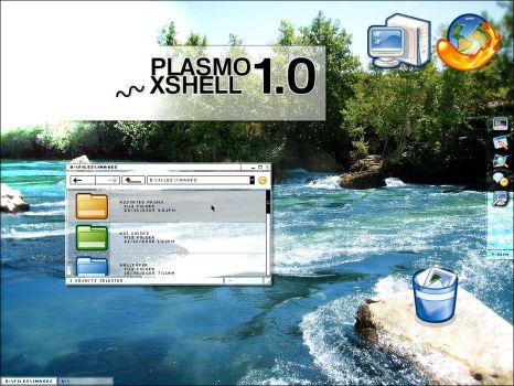 CONCEPT :: PLASMO XSHELL 1.0 by plasmo