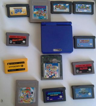 GBA Games by signothetymes