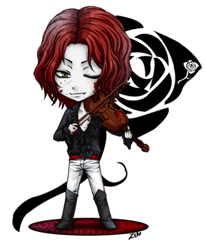 VtM - chibi_Clan Toreador by zero0810