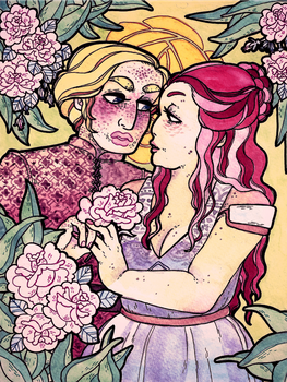 the beauty and the rose by kicksatanout
