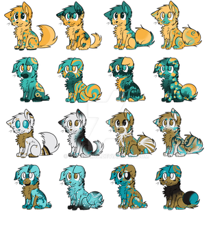 Canine Adopts - So chibi (Open!) by Kydashing