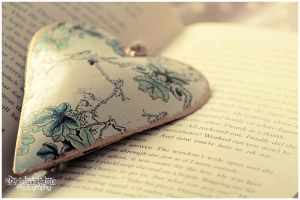 Flower Heart Book by Clerdy