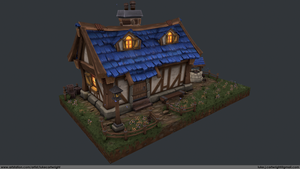 Medieval House by LukeCartwright